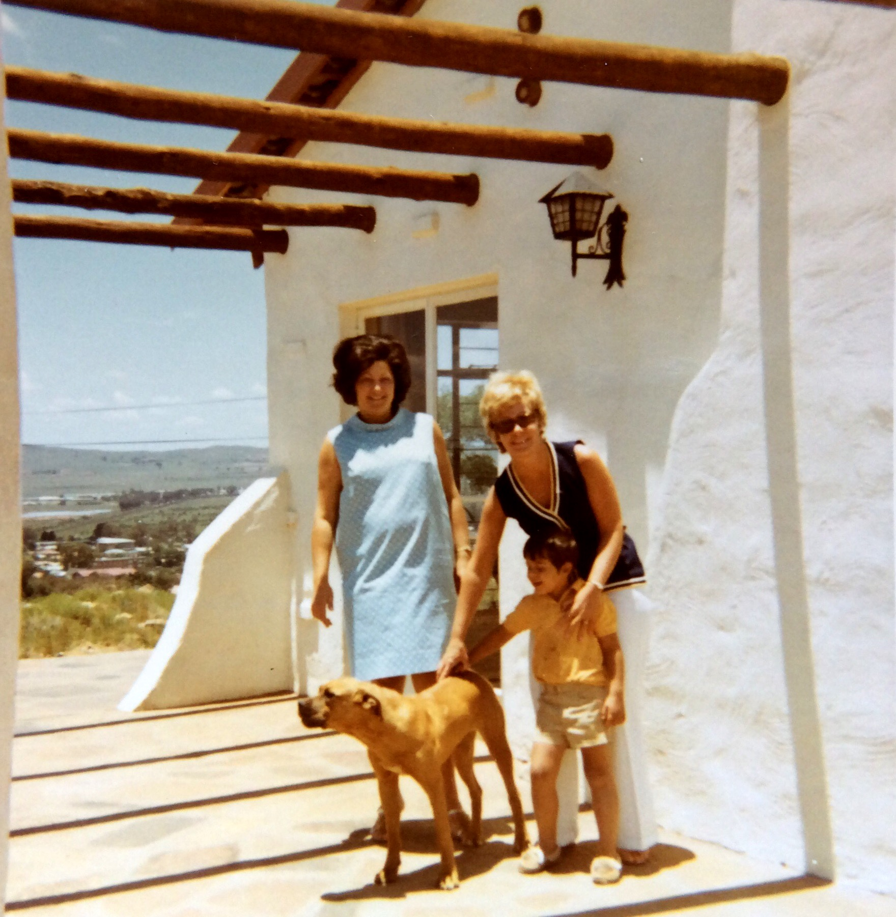 PRETORIA, LOUISE AND JOHNGEORGE AND ME...1971