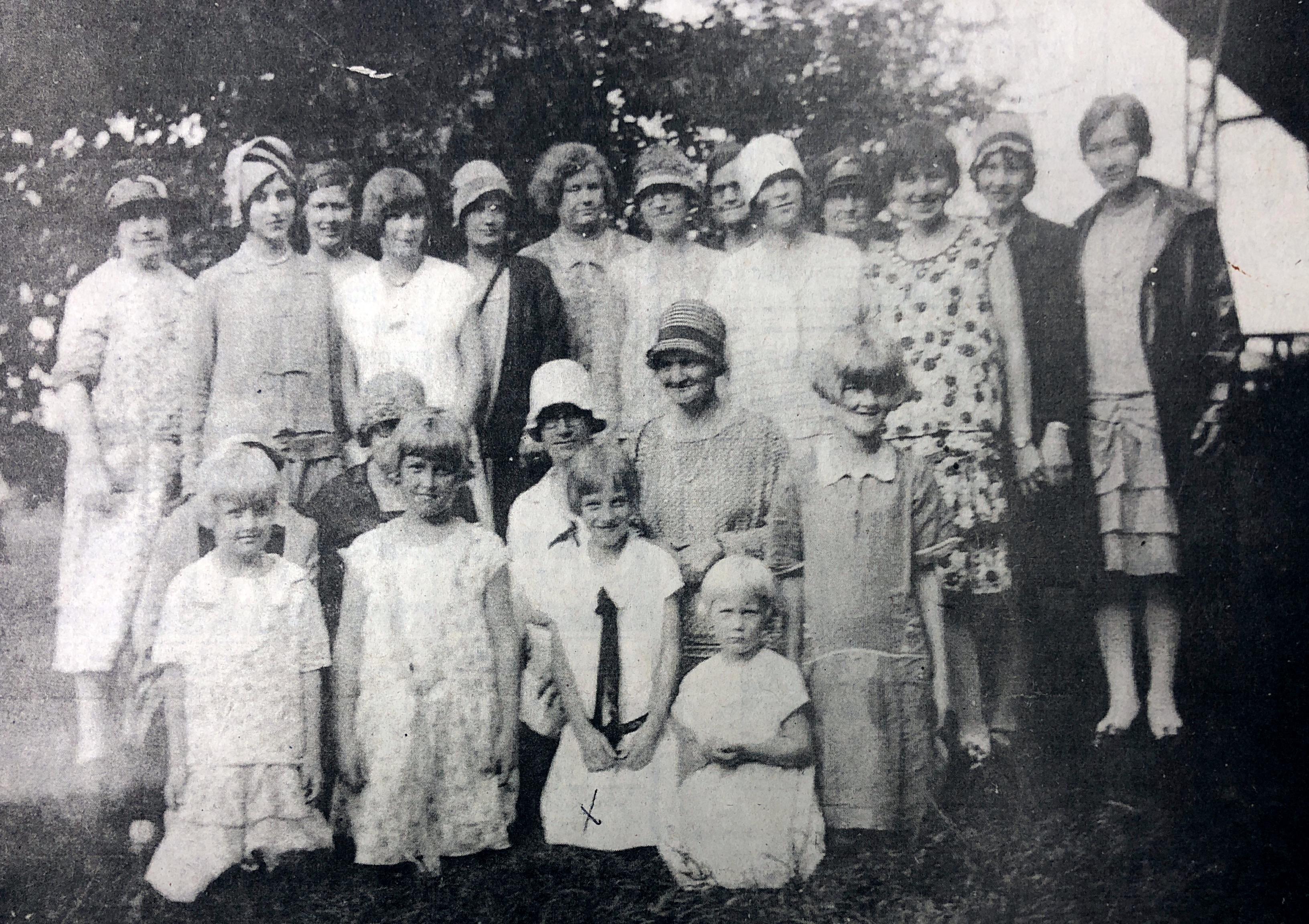 1928 Westrum Reunion women