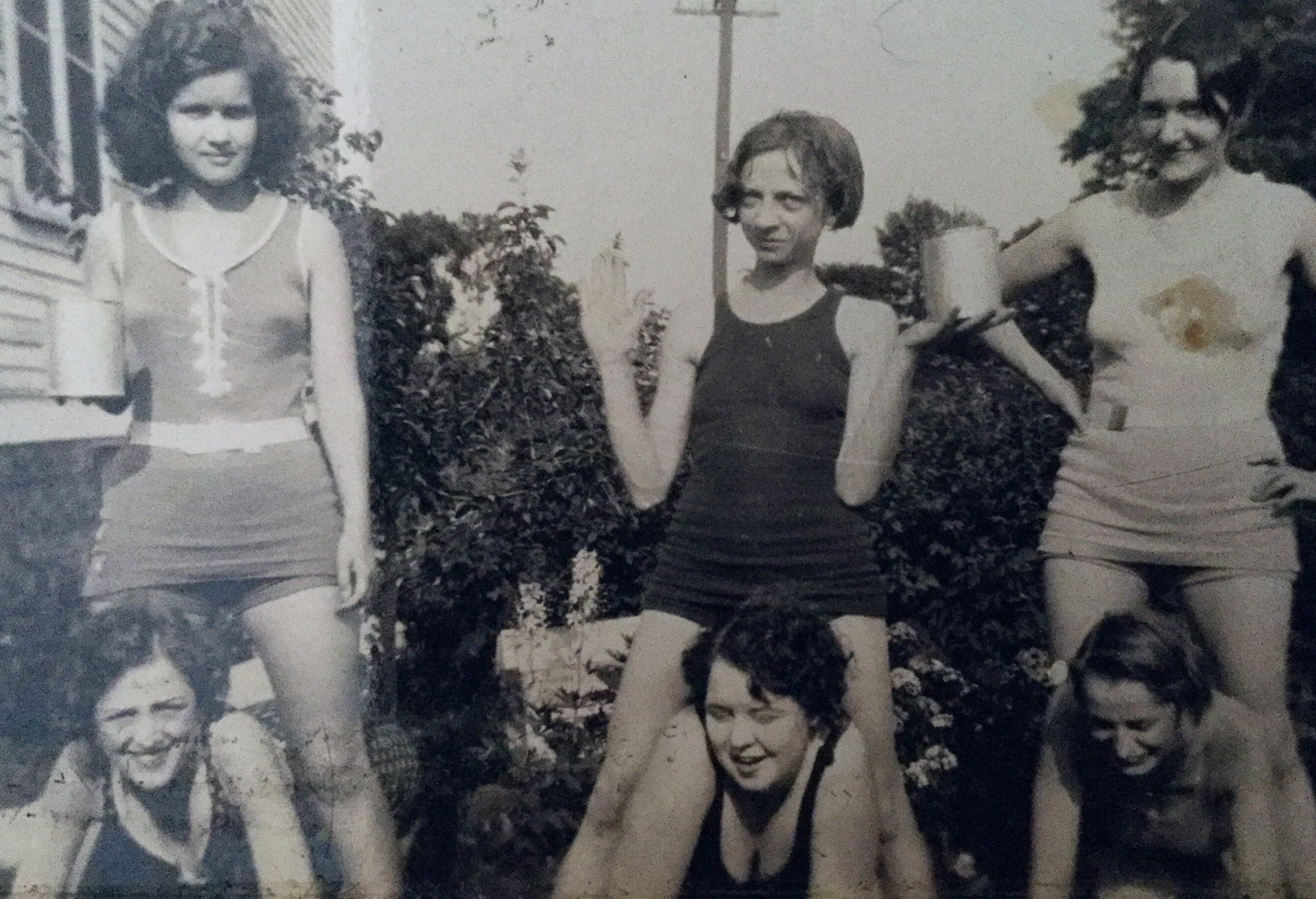 Girls having fun timeless maybe early 1920s